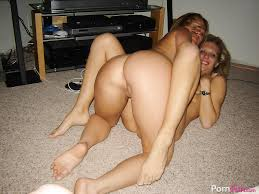 Horny MILFs and two guys in action