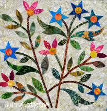 Spring Bouquet Quilt: machine appliquéd and quilted, Edyta Sitar ... & Spring Bouquet Quilt: machine appliquéd and quilted, Edyta Sitar pattern,  made by Vicki Adamdwight.com
