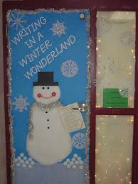 winter wonderland classroom door decorating ideas. Writing In A Winter Wonderland The Student Council Had Winter Wonderland Classroom Door Decorating Ideas 2