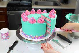Egg Surprise Cake Design Funfetti Cake Recipe