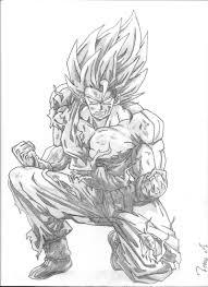 G Nial Coloriage Dragon Ball Z Goku Super Saiyan 10000