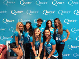 gnc and vitamin were the first relers to sell quest to gain more exposure quest used thousands of brand ambadors to push the