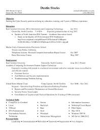Cyber Security Resume Objective Cyber Security Officer Cover Letter