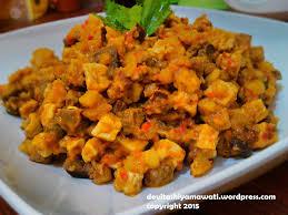 Selain itu kentang bisa dimodifikasi dengan talas atau sukun. Resep Membuat Sambal Goreng Kentang Ati Yang Enak Untuk Lauk Royal Tumpeng