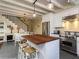 Raised Kitchen Floor Kitchen Wicker Bar Stools Also White Paneled Kitchen Island With