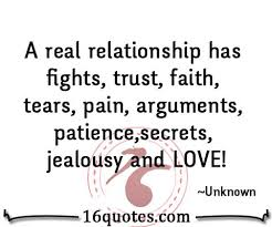 Quotes On Trust In Love And Relationships