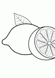 Small Picture Lemons fruits coloring pages for kids printable free coloing