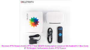 Reviews IPTV France Arabic IPTV <b>1 Year QHDTV</b> Subscription ...