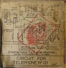 telephones uk telephones pre 1960 circuit diagram
