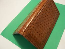 Design We Wallets Hand Crafted Several Color Stains And Tooling In Bi Fold