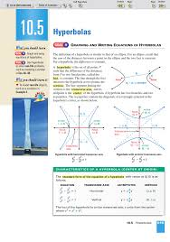 10 5 hyperbolas what you should learn