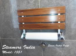 steamers india teak wooden folding shower seat dimension size 20 13 3
