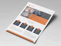 Indesign Flyer Template Corporate Flyer Template