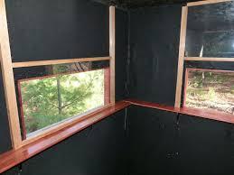 homemade hunting blind windows ftempo