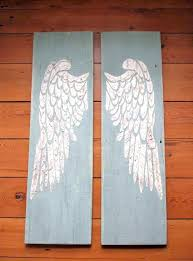 wall arts angel wings wall art large decor fresh carved wing for sa