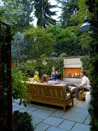 Small Picture Small Garden Garden Fireplace Scot Eckley Inc Seattle WA