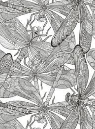 Small Picture Printable coloring pages of a flower illustration dragonfly art