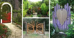 15 creative garden gates that make a