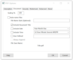 Auto-name Files and Configure File Save Naming