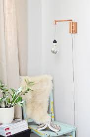 copper pipe wall sconce