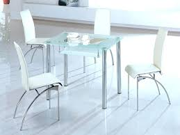 small glass top table round