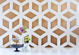 transform white poster board into this chic geo wall art  on poster board wall art with 25 pieces of geometric wall art we want now poster boards