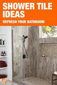 depot bathroom tile