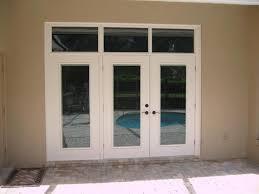 lightouch patio doors with custom transom