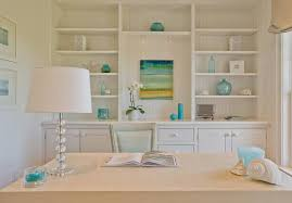 office built in. built in cabinets with beadboard trim office p