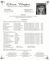 Free Resume Templates Example Of Perfect School Application