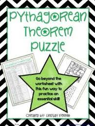 Pythagorean Theorem Converse Zombies 8.g.6 And 8.g.7 Assessments ...