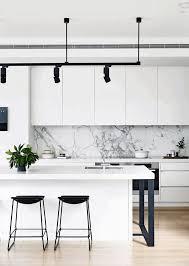 modern bar backsplash.  Backsplash Industrial Black Hanging Lamp Modern Bar Stools White Marble For Modern Backsplash V