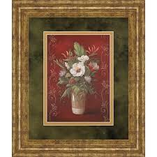 marlow s bouquet ii by vivian flasch framed painting print