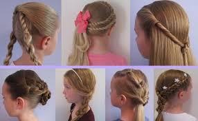 Chladné účesy Doma Haircut Roller Video Dlouhé Kadeře Na Stranu