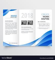 Creative Brochure Design Vector Free Download Creative Tri Fold Brochure Design Template With