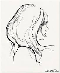 Side Face Sketch At Paintingvalleycom Explore Collection Of Side