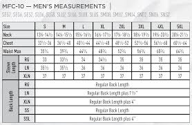 Bulwark Fr Coverall Sizing Chart Bulwark Frc Mens Sizing Chart Coveralls And Overalls