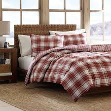 down comforter sets king.  King Amazoncom Eddie Bauer Edgewood Plaid Down Alternative Reversible Comforter  Set King Red Home U0026 Kitchen Intended Sets King O