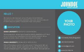 ... Sensational Idea Interactive Resume 14 10 Amazing Design Templates That  Will Surely Get You An ...
