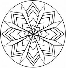 Small Picture Printable Kaleidoscope Coloring Pages Coloring Me