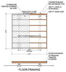 shed floor plans. 8x8 Garden Shed Building Plans 03 Floor Frame