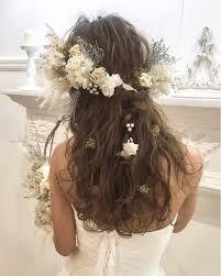 常識を覆すイマドキ結婚式はダウンスタイルが気分なの Arine