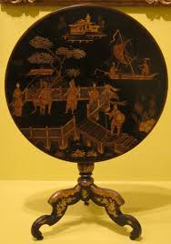 diy lacquer furniture. File:English Tilt-top Table, Late 18th Century, Japanned Wood (imitation Diy Lacquer Furniture S