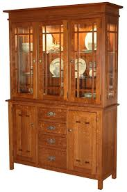 Baja Mission China and Display Cabinet