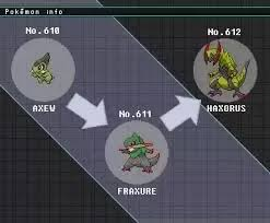 Haxorus Evolution Chart 50 Prototypical Nuzleaf Evolution Chart