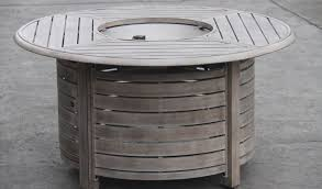round propane fire pit table best of red ember 47 in willow round propane gas fire pit table