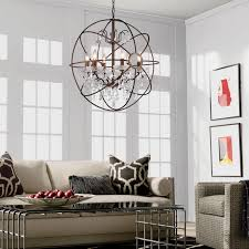 opentip com warehouse of tiffany rl8049 24ab edwards antique bronze and crystal 24 inch sphere chandelier