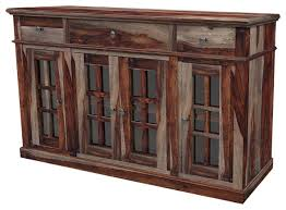 rustic dining room sideboard. Beautiful Rustic Dining Room Sideboard And Texas Solid Wood Buffet With Glass Doors T