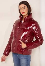 high gloss down jacket