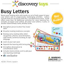 Busy Letters Discovery Toys New 2017 2018 Products